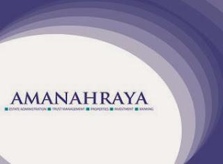 Job in Amanah Raya Berhad