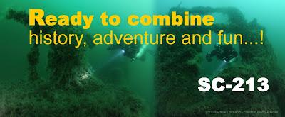Wreck diving Aquarius dive center Constanta Romania Black Sea