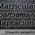 Matrículas parciales y adaptaciones a grado los grandes perjudicados del sistema de becas.