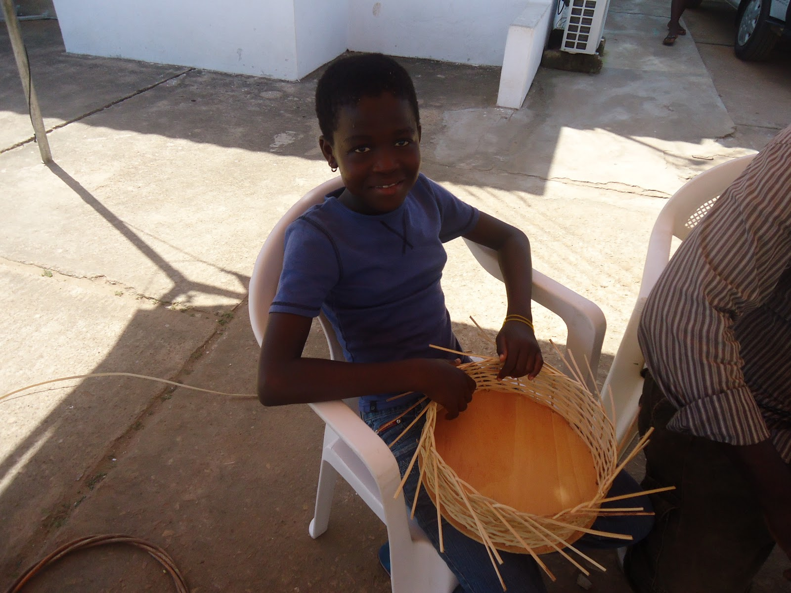 Basket Weaving Ghana : Arts education international happening now aei basket