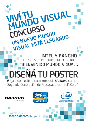 """Comenzó el concurso Intel """"VIVÍ TU MUNDO VISUAL, DISEÑA TU POSTER »"""