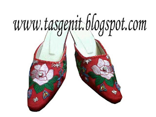 selop pengantin sepatu wedding cheongsam