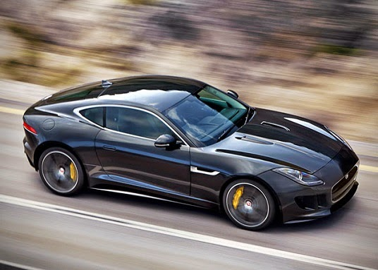 Review: 2015 Jaguar F Type R Coupe: Fast, Sexy But Not So Silent