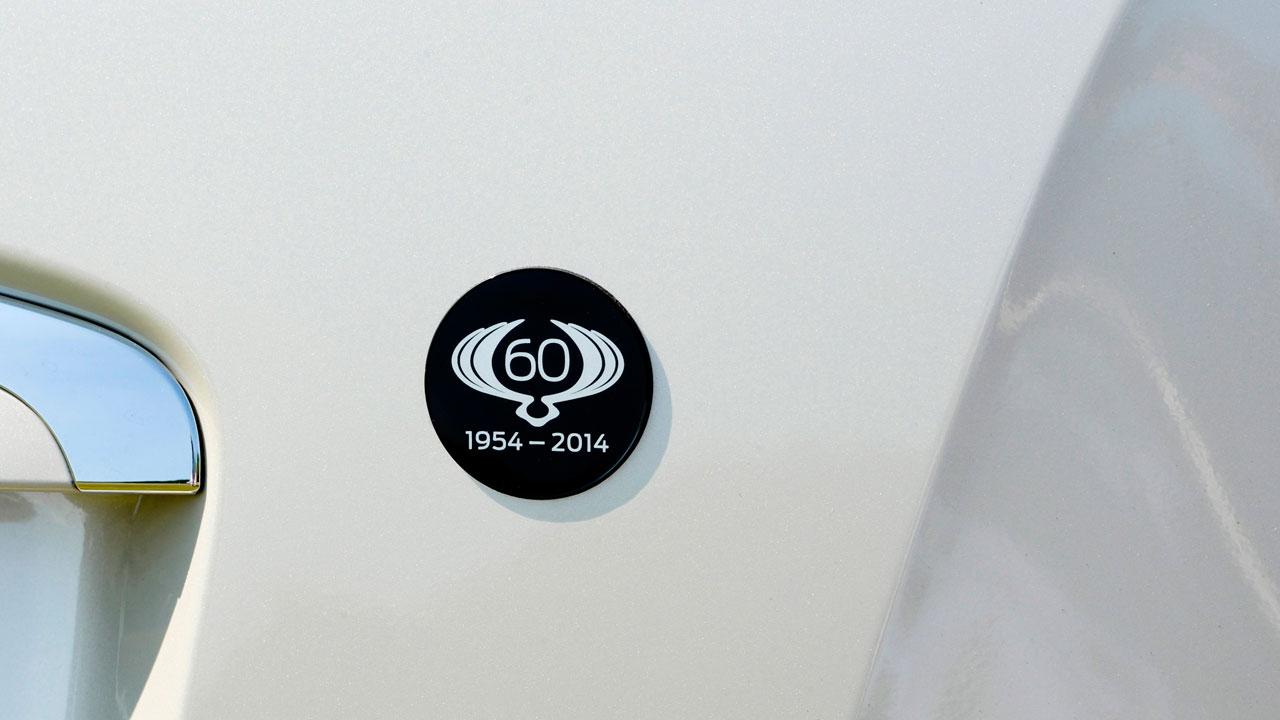 60th anniversary edition Rexton W and  Korando badge