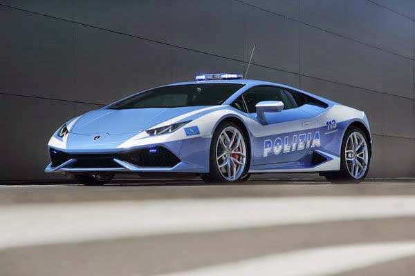 2015 Lamborghini Huracan LP610-4 Polizia