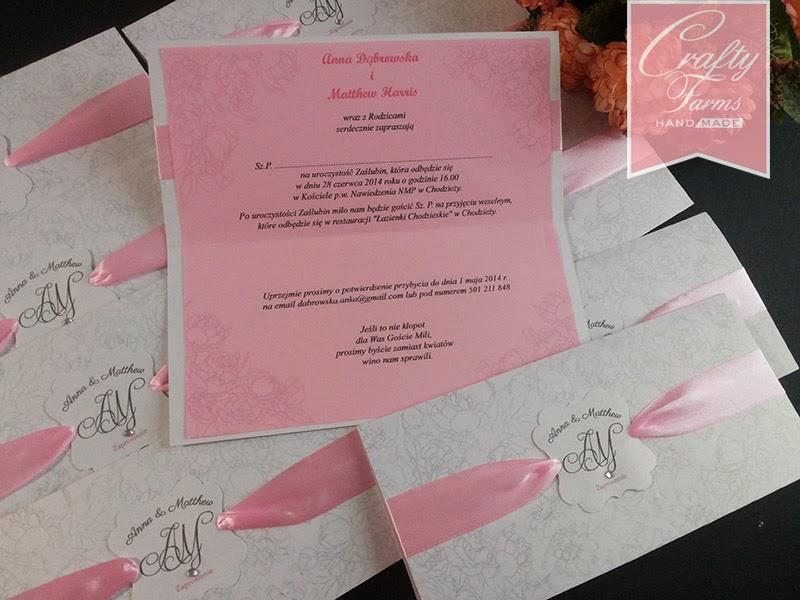 Church wedding card for Malaysians
