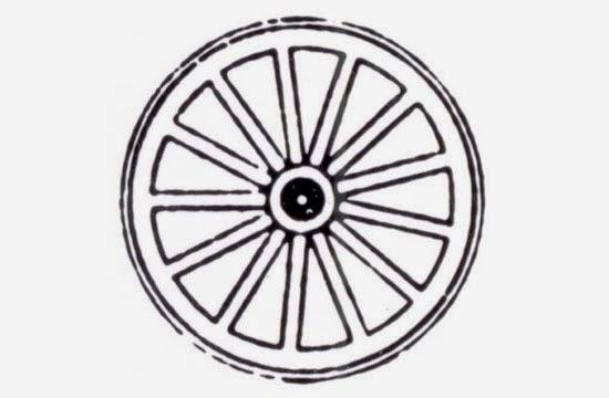 Primeiro símbolo do Rotary Club de Chicago criado por Montague M. Bear, 1905