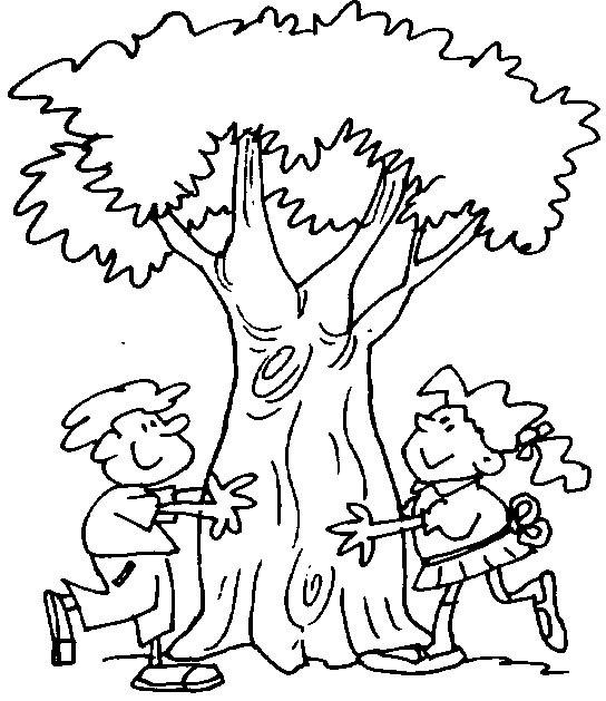 Dibujos para colorear de la deforestación - Imagui