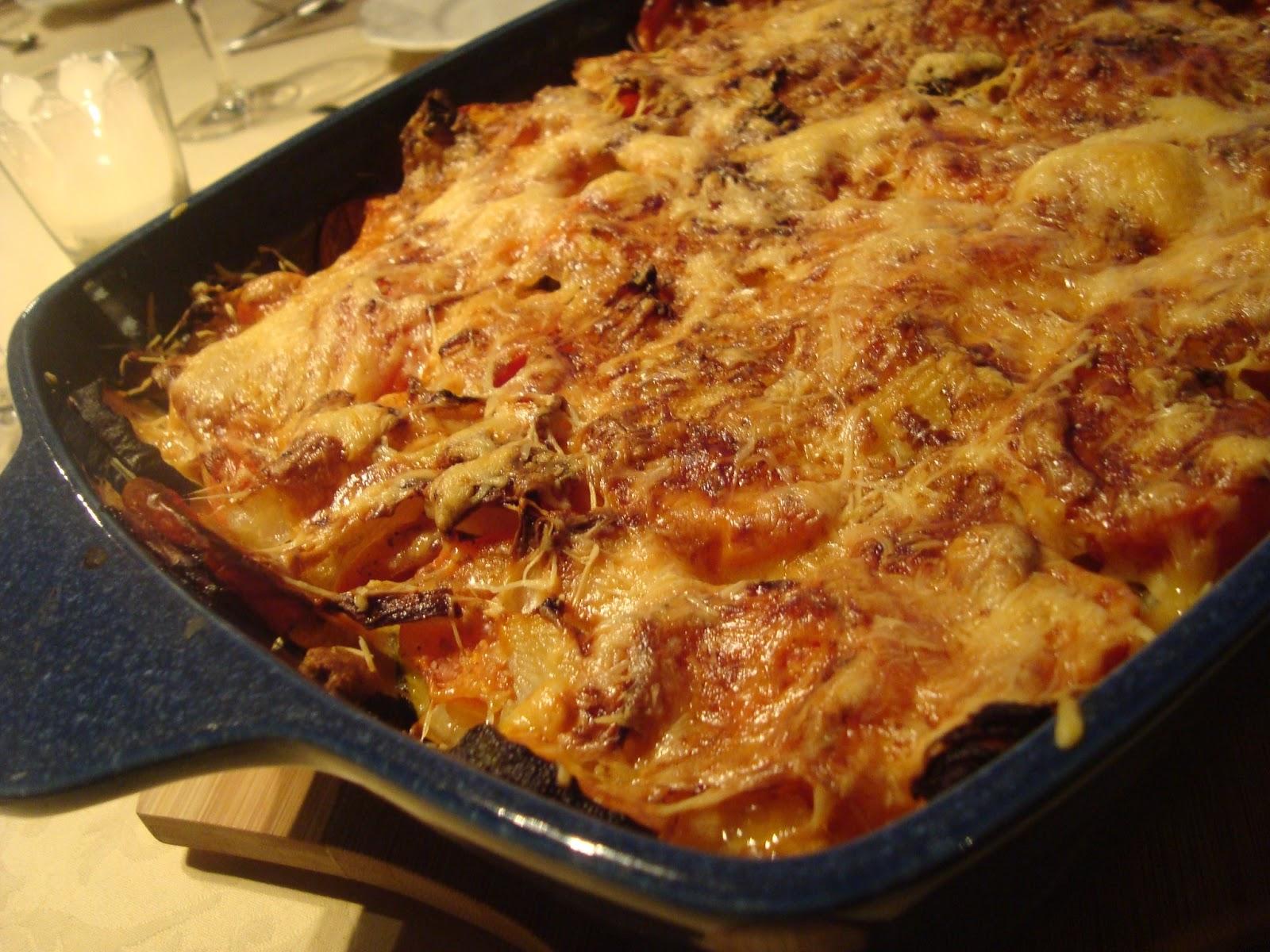 Krystina cuisine gratin de l gumes for Allez cuisine translation