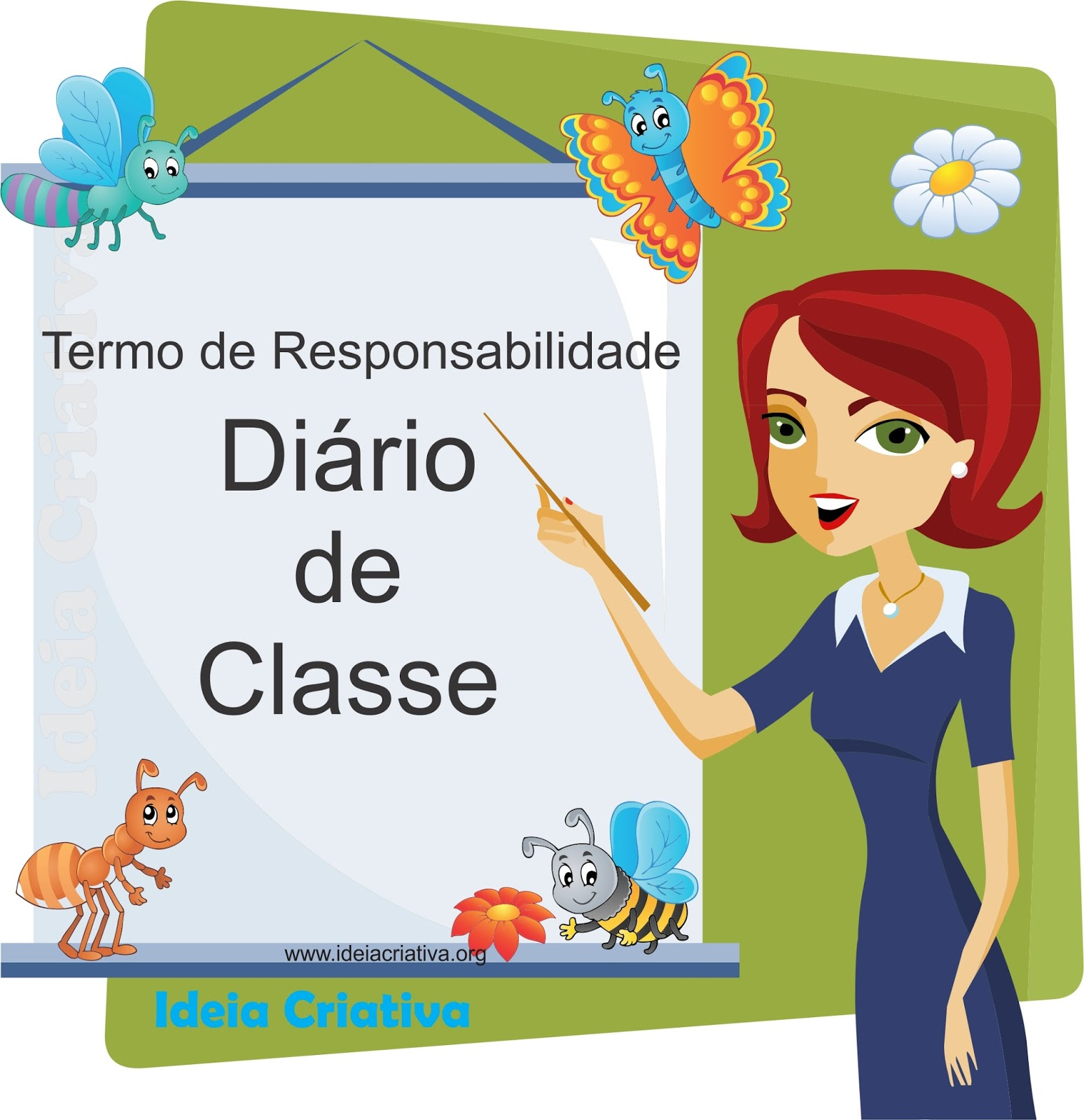Termo de Responsabilidade Diário de Classe Secretaria Escolar