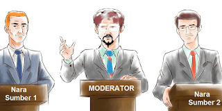 Debat (kalimat Moderator)