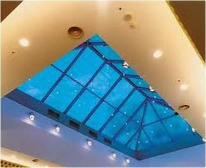 Domus para iluminação e ventilação