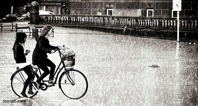 rain riding rainy days down gila