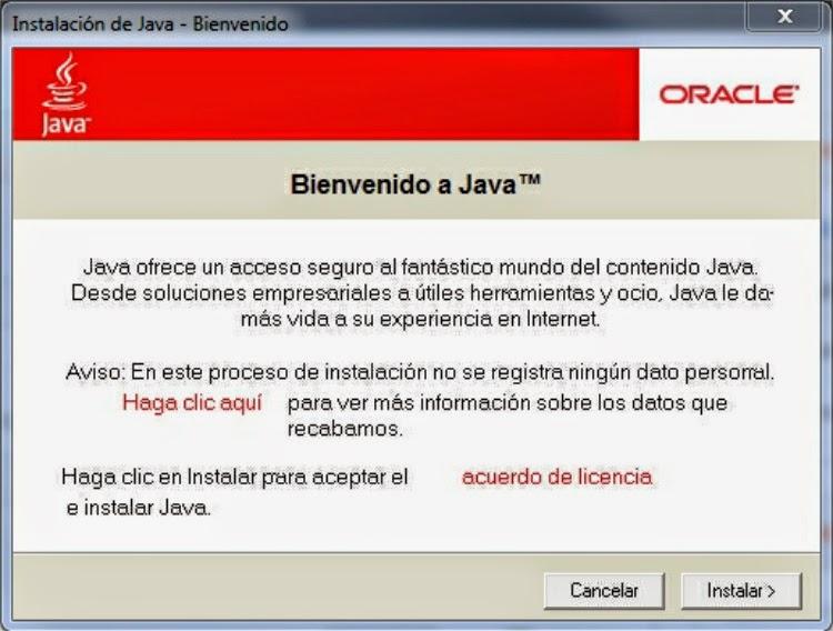 جافا ويندوز 7 تحميل Java 2 Runtime Environment