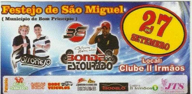 FESTEJO DE SÃO MIGUEL