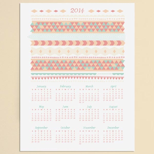 10 Lovely Free Printable Calendar Templates To Download Jayce O Yesta