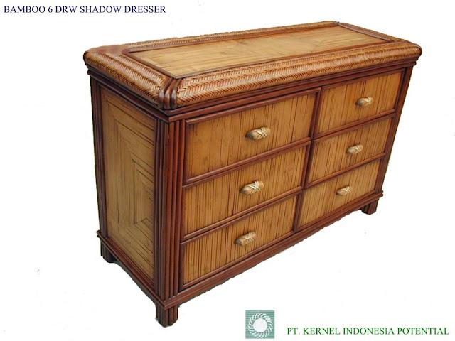 Bamboo Dresser8