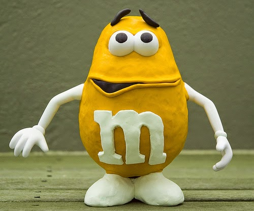 Mr. Potato versión M&M