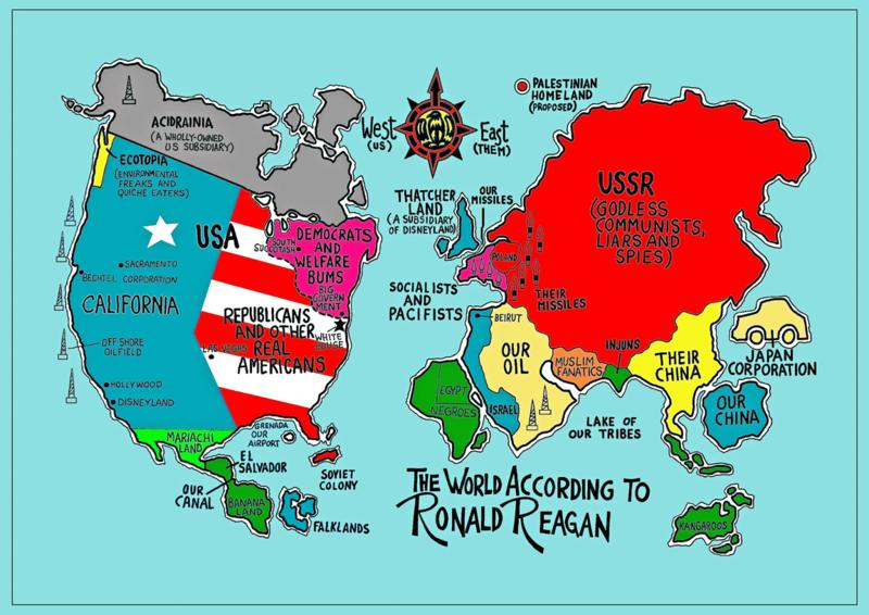the world according to the usa