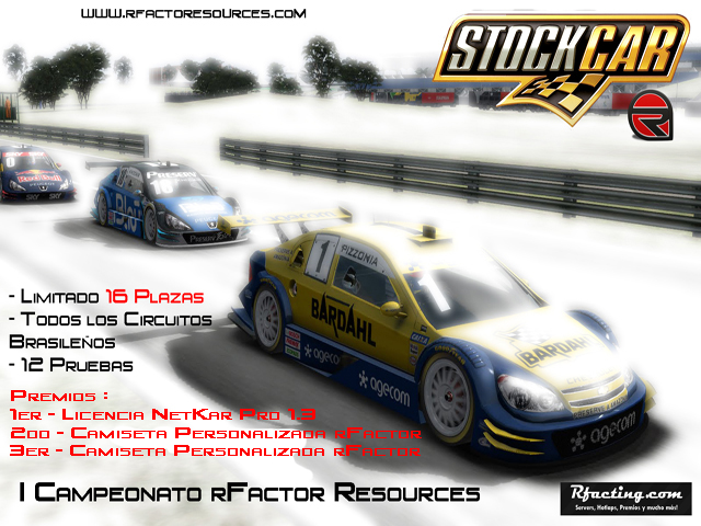 rFactor Campeonato Stock Cars V8