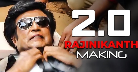 OFFICIAL: 2.0 Rajinikanth Making Reaction | Akshay Kumar