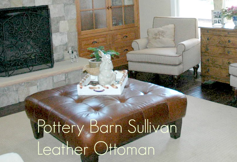 That Tactic Worked When I Scored This Pottery Barn Sullivan Ottoman Which They No Longer Only Was Standing In The S Living Room Did