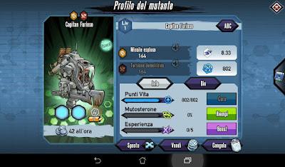 Mutants: Genetic Gladiators Breeding video N°42 (Bushi - Terrordoll)