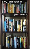 image of my bookshelf