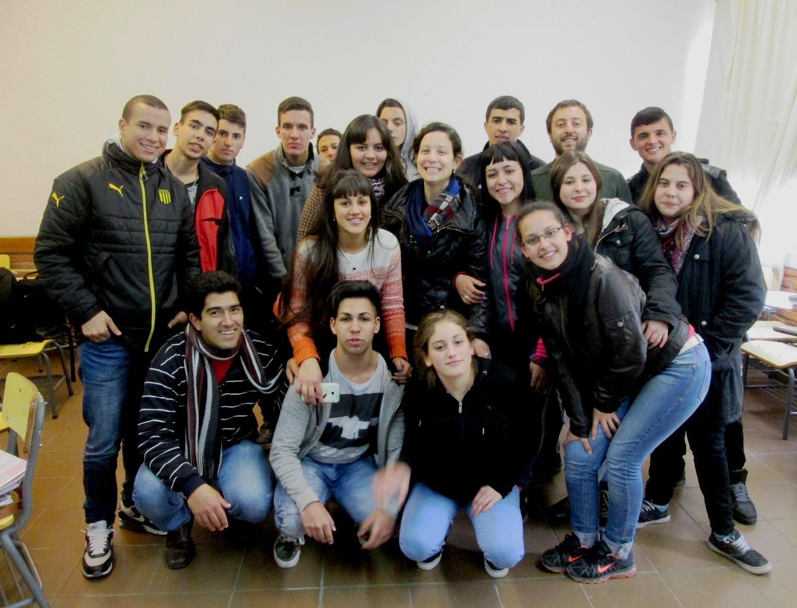 Visita de Natalia Piriz (Docente Audiovisual)