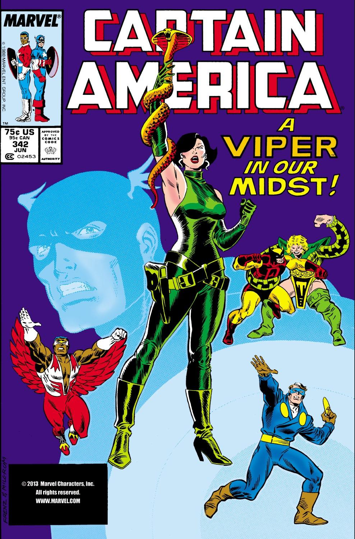 Captain America (1968) Issue #342 #272 - English 1