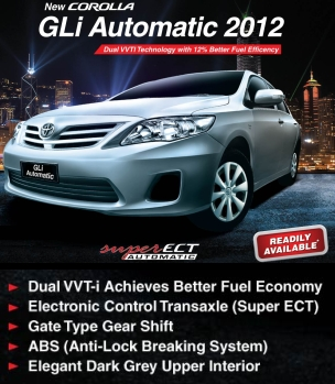 Now Introducing Gli Automatic: Corolla Gli Is A Pakistani Sedan And Indus  Motors Company (IMC) Is Claiming That It Has Sold Over 75,000 Units Since  Its ...