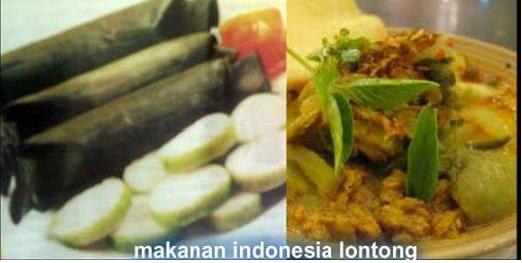 lontong khas Indonesia Yang Mendunia