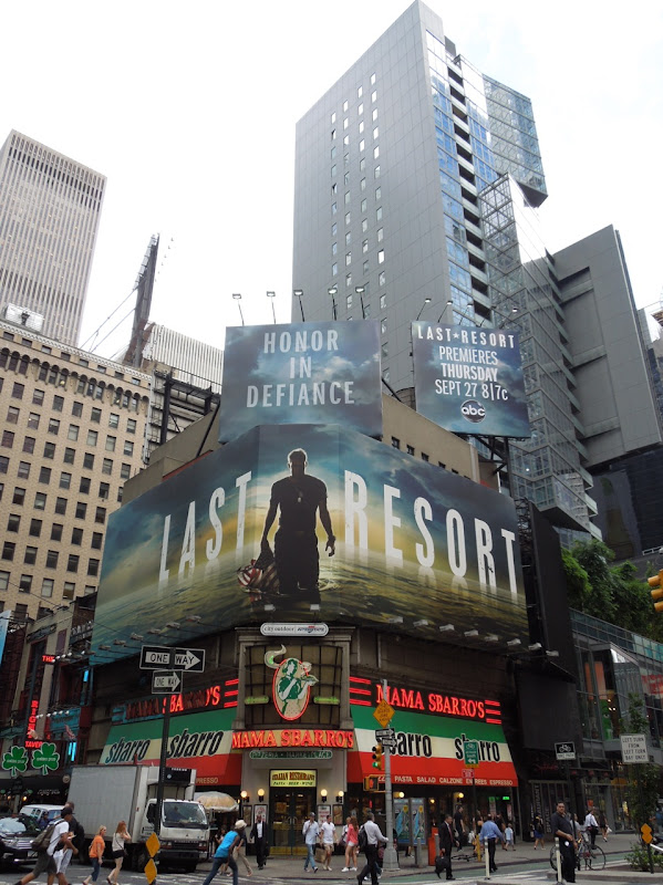 Last Resort TV billboards Times Square