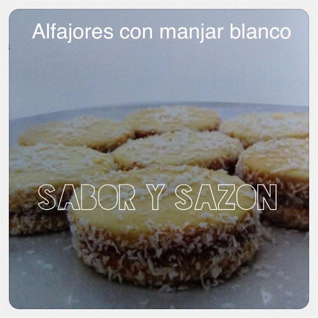 COMO PREPARAR ALFAJORES CON MANJAR BLANCO - RECETA FÁCIL Y RÁPIDA  http://saborysazon.blogspot.com