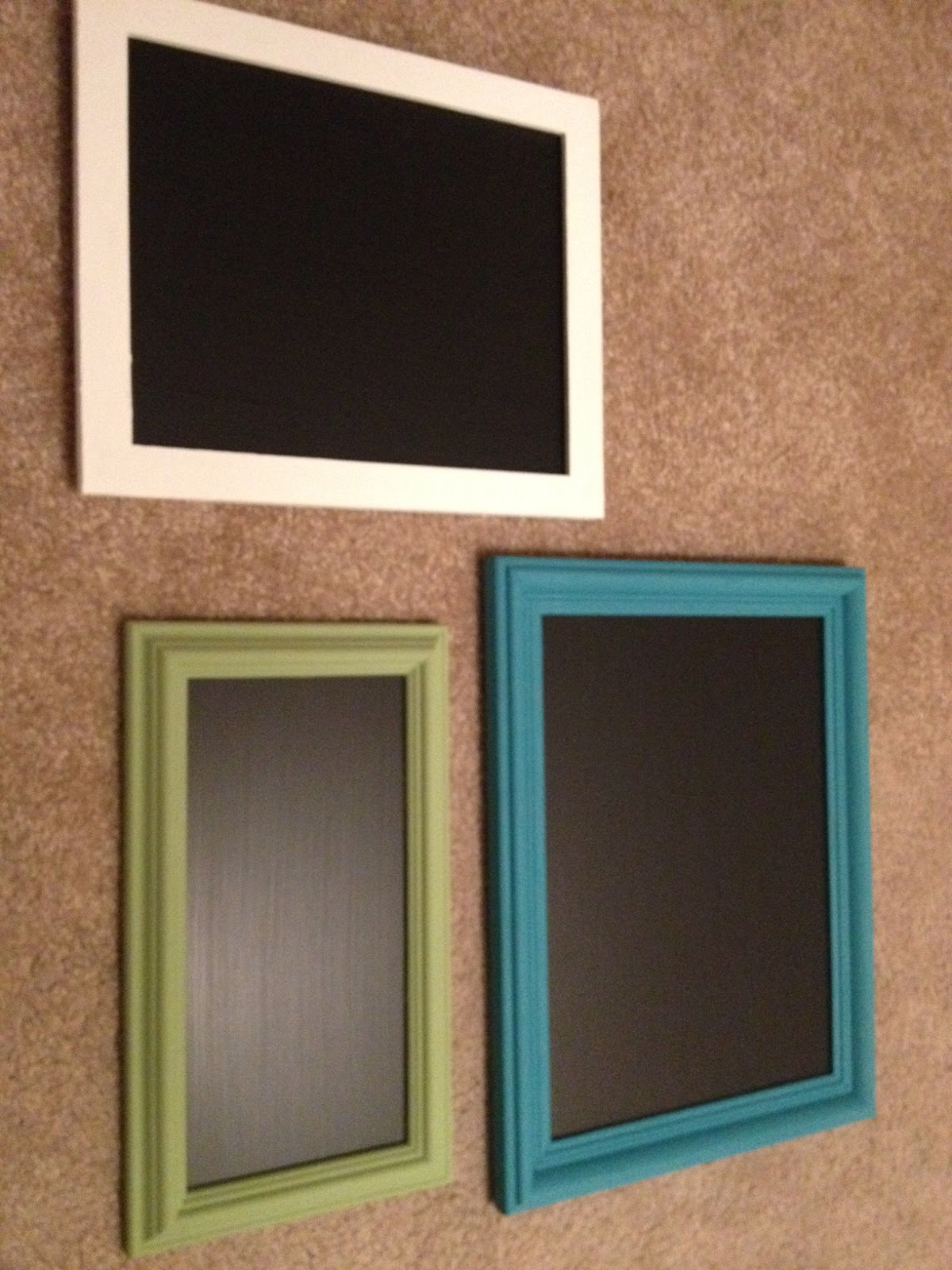 DIY Upcycle Chalkboard Frame