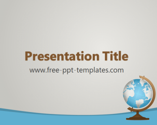 free powerpoint templates geography  free powerpoint templates, Powerpoint
