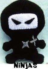 http://patronesjuguetespunto.blogspot.com.es/2014/09/patrones-ninjas.html