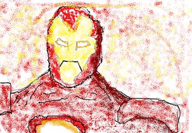 我畫的鋼鐵人