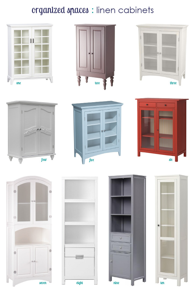 Third and patterson linen cabinets for small spaces for Bathroom cabinets small spaces
