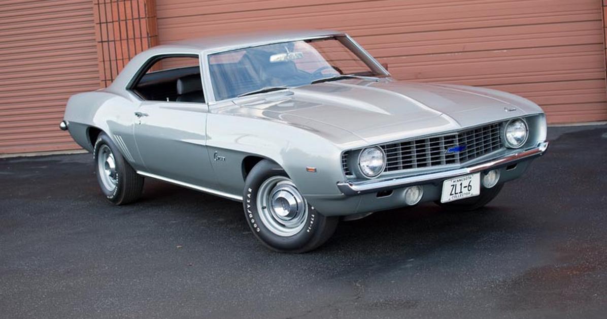 FAB WHEELS DIGEST (F.W.D.): 1969 Chevrolet Camaro ZL-1