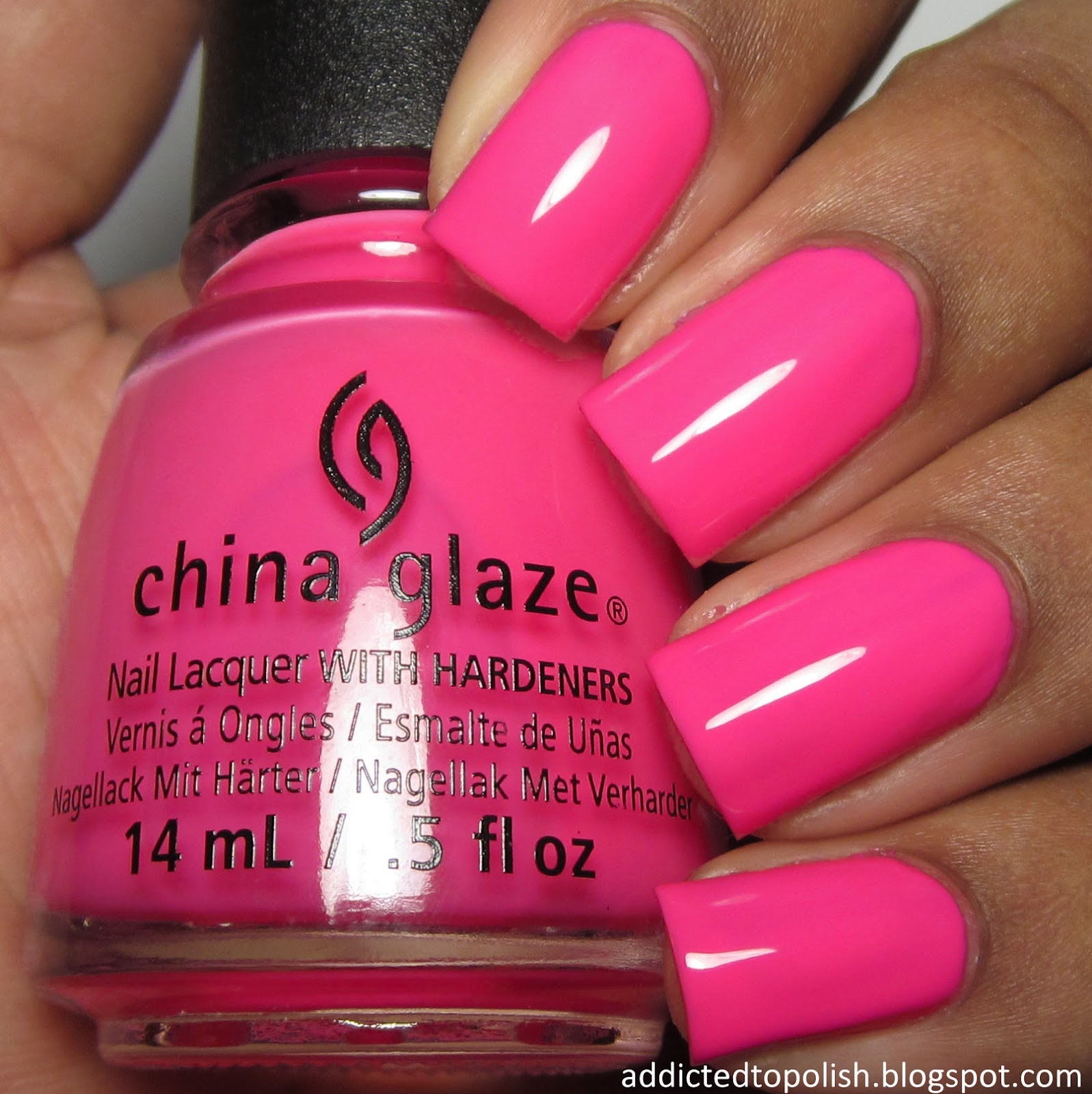 china glaze glow with the flow summer 2015 electric nights