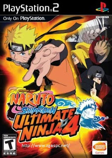 Free Download Games Naruto Shippuden Ultimate Ninja IV PCSX2 ISO Untuk KOmputer Full Version ZGASPC