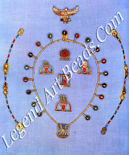 Jewelry of Queen Mereret, from Dahshur