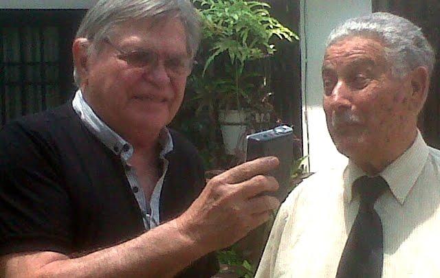 Rony Vargas con el Dr. Ceppi