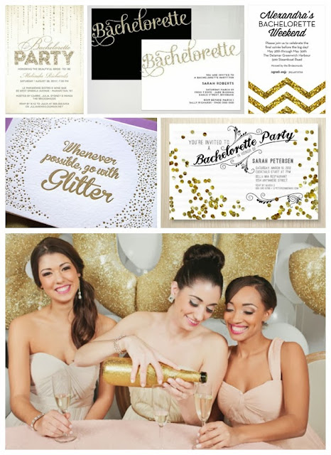 Glitter & Glam Hen Party Theme 01
