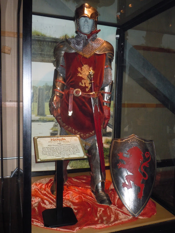 Peter Pevensie Narnia battle costume