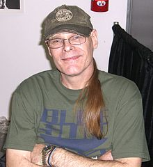 James O'Barr, famoso pela criação do personagem O Corvo nas histórias em quadrinhos