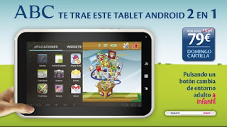 Tablet 2 en 1 Scooby de iJoy ABC