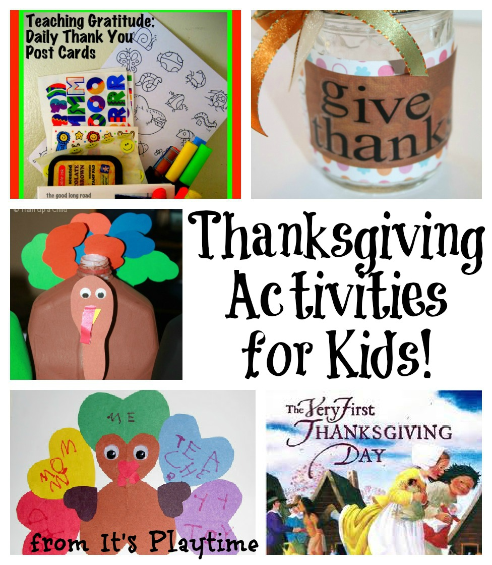 Thanksgiving and gratitude activities for kids it 39 s for Thanksgiving activities for toddlers