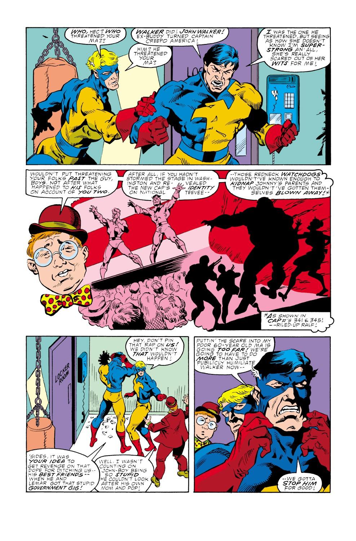 Captain America (1968) Issue #347 #277 - English 6